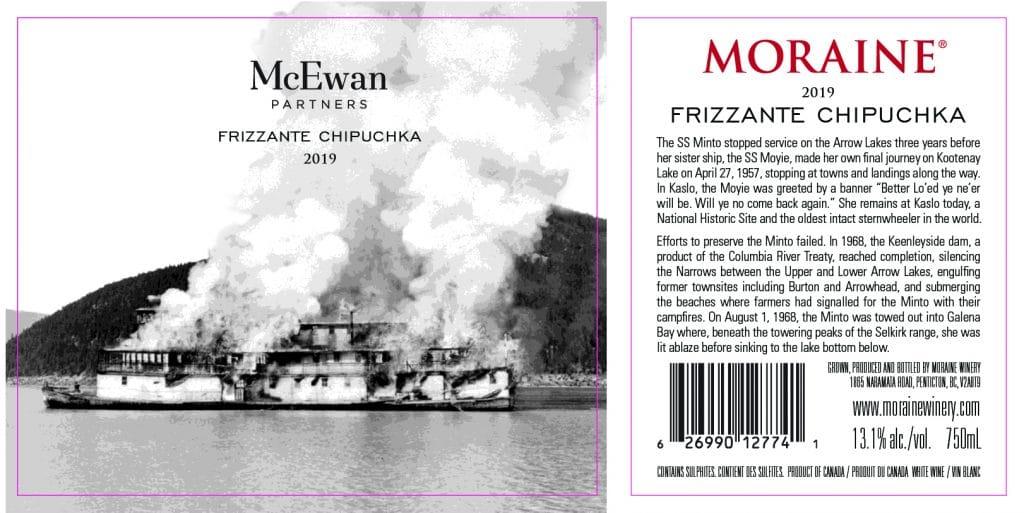 Moraine Winery Frizzante